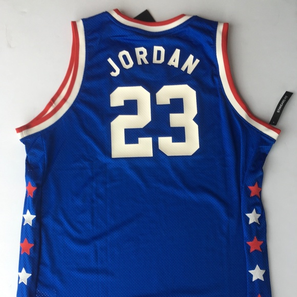 sports shoes fb9c5 a936b Air Jordan 3 Legacy Mid Summer Magic Jersey NWT NWT